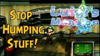 getlinkyoutube.com-Luigi Can't Stop Humping Things! [Luigi's Mansion] [GameCube] [Gameplay]