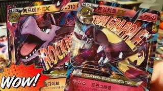 XY BREAK 더블메가 세트 M 프테라 EX + M 입치트 EX + 렌트라 BREAK 포켓몬스터 카드 개봉기!
