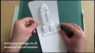 getlinkyoutube.com-Pop Up Empire State Building Card Tutorial - Origamic Architecture