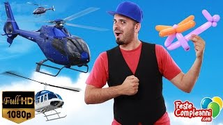 Palloncino Elicottero - Balloon Helicopter - Tutorial 122 - Feste Compleanni