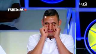 اللاعبين الجزائريين ينفجرون ضحكا بعد ما قال لهم الوضاحي تحية خاصة الى حسيسن
