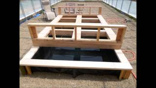 Aquaponics Greenhouse Build