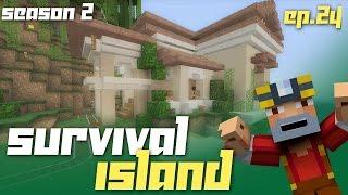 getlinkyoutube.com-Minecraft Xbox 360: Survival Island - Season 2! (Ep.24 - Moving Villagers...kinda!)