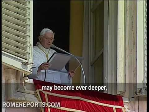 Benedict XVI asks to pray for the Church in China