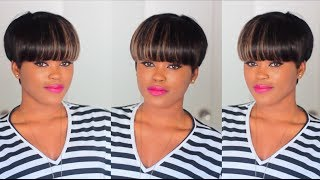DIY: Quick & Easy Faux Mushroom/Bowl Cut Wig