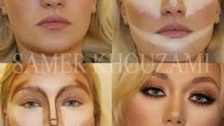 getlinkyoutube.com-Contouring for the Mature Woman!!!  WARNING - I have no makeup on!