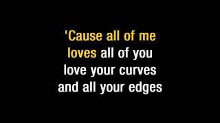 "getlinkyoutube.com-John Legend   ""All Of Me"" Karaoke"