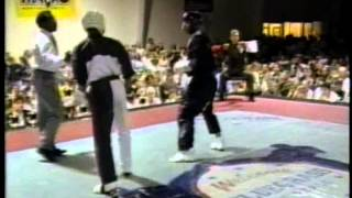 Tony Young vs Pedro Xavier at the 1995 Bluegrass Nationals Karate Tournament