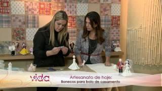 getlinkyoutube.com-Vida Melhor - Bonecos de Biscuit (Adriana Aveiro)