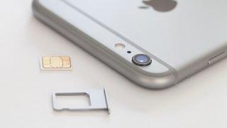 getlinkyoutube.com-iPhone 6 / 6S PLUS HOW TO: Insert / Remove a SIM Card