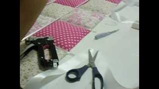 getlinkyoutube.com-como fazer uma cabeceira de cama estofada