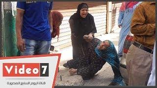 getlinkyoutube.com-بالفيديو.. لطم وصراخ وعويل بين نساء المنيا بعد الحكم بإعدام ذويهم