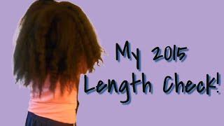 getlinkyoutube.com-Natural Hair | 2015 Length check! Hair type: 4B