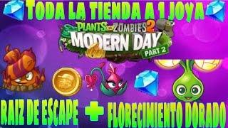 getlinkyoutube.com-plants vs zombies 2 como tener toda la tienda a 1 joya + plantas premium