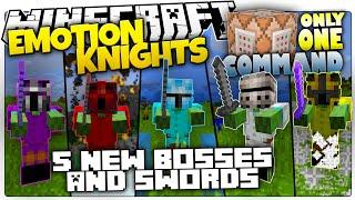 getlinkyoutube.com-Minecraft   EMOTION KNIGHTS   5 New Bosses & OP Swords   Only One Command (Minecraft Custom Command)