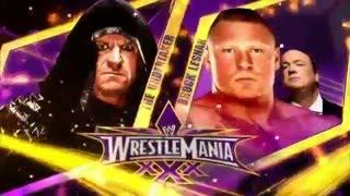 getlinkyoutube.com-WWE WrestleMania 30  Brock Lesnar vs The Undertaker Highlights