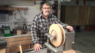 getlinkyoutube.com-How To Make A Donut Chuck For Woodturners