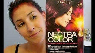 "getlinkyoutube.com-couleur schwarzkopf ""NECTRA COLOR 499"" - Lady Marjo"