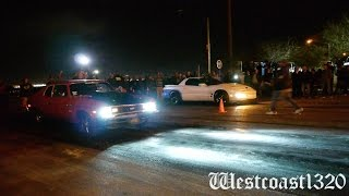 getlinkyoutube.com-Nitrous Trans Am vs Nitrous SBC Nova