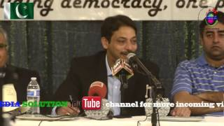 Part 1 of 5 Ex-senator Syed Faisal Raza Abidi Dallas visit/open forum discussion/Q & A.