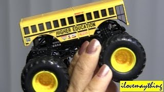 Unboxing Monster Jam Truck HIGHER EDUCATION