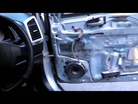Замена тросика замка двери wingroad Y12(1)