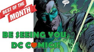 SAYING GOODBYE TO DC COMICS AFTER 20 YEARS.