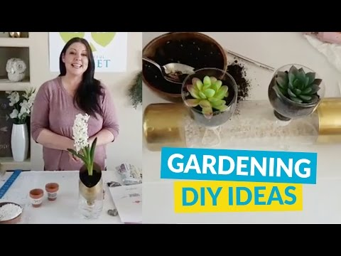 Great Gardening DIY Ideas!