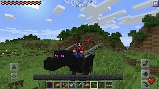 getlinkyoutube.com-Майнкрафт ПЕ 0.14.0/0.15.0 Эндер Драконы и Лошади/Minecraft PE The end dragons and horses