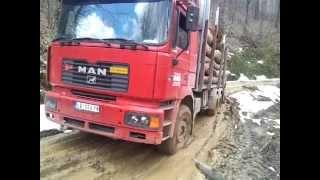 getlinkyoutube.com-MAN timber truck