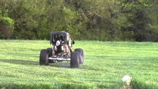 getlinkyoutube.com-1/4 Scale Grave Digger Part 24C with Stinger 609