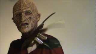 getlinkyoutube.com-Freddy Krueger silicone mask part II