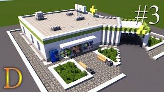 """getlinkyoutube.com-MINECRAFT PORADNIK - Jak zbudować szpital z Cities Skylines """"APTEKA"""" [#3]"""