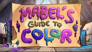 Gravity Falls - Mabel's Guide To Color - Official Disney XD UK HD