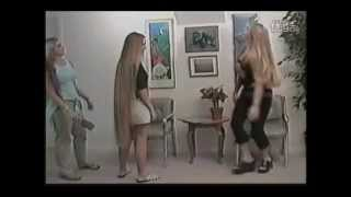 getlinkyoutube.com-Amie Super Long Knee Length Hair - Hairwearesecrets