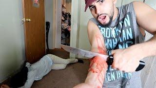 CUTTING HAND OFF PRANK BACKFIRES!!!
