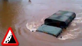 getlinkyoutube.com-Бездорожье. Грузовики едут под водой
