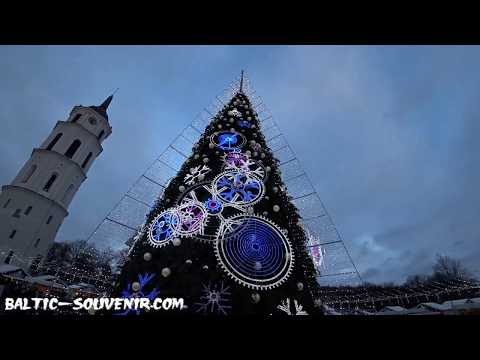 Главная Ёлка Вильнюса, Новый год / Kalėdos, Vilnius / Christmas, Lithuania