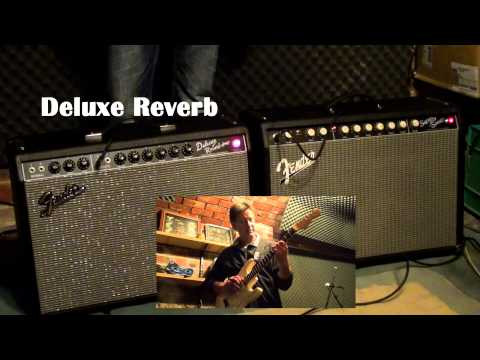 Fender Super-Sonic 22 vs Fender '65 Deluxe Reverb (Drive Test)