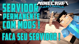 getlinkyoutube.com-Como fazer um servidor com mods! Minecraft pocket edition 0.13.0