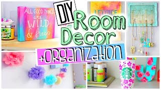 getlinkyoutube.com-DIY Room Organization and Decorations | Spice up your room for 2015! JENerationDIY