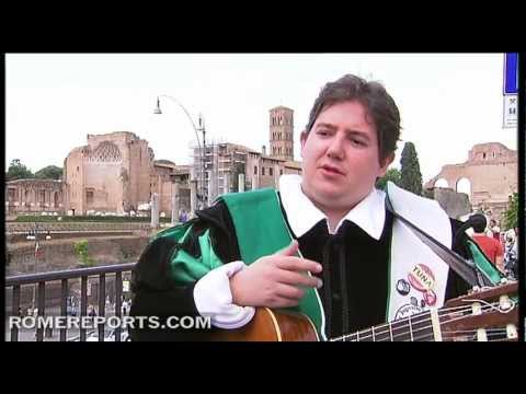 Una Tuna recibir� al Papa en la JMJ Madrid 2011 al son de guitarras y bandurrias