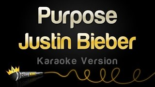 getlinkyoutube.com-Justin Bieber - Purpose (Karaoke Version)