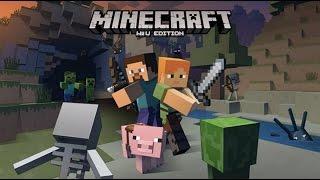getlinkyoutube.com-Minecraft  - Part 1 | Let's Build An Adventure Together! [WiiU Edition Gameplay]