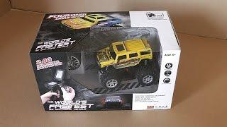 getlinkyoutube.com-Mini RC Toy Car, bigfoot monster truck, rc 4x4 rock crawler, RC Buggy, 4wd rc hummer. ec-hobby.com