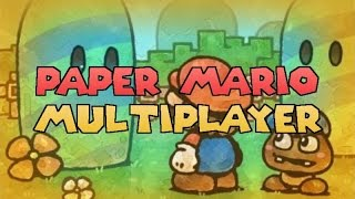 Paper Mario Multiplayer Release, Play Online! [Version 1.1]