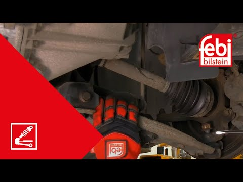 [EN] Ford, Mazda and Volvo suspension control arm bush kit replacement