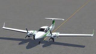 getlinkyoutube.com-Alabeo DA42 Twin Star G1000 - tutorial with startup - Plan-G - Lake Tahoe