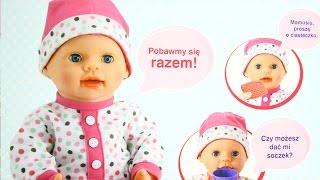 getlinkyoutube.com-Lali Baby Doll / Bobas Lali  - Lalka Funkcyjna Interaktywna  - ICom - MegaDyskont.pl