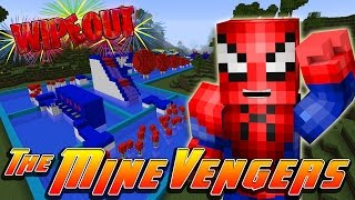 getlinkyoutube.com-Minecraft MineVengers - SUPER HERO TOTAL WIPE-OUT!!!!